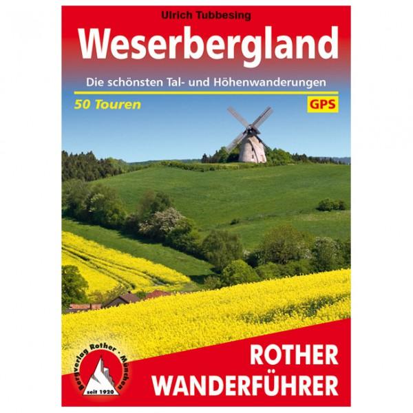 Bergverlag Rother - Weserbergland - Walking guide book