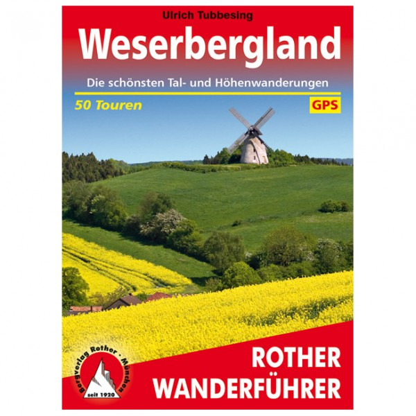 Bergverlag Rother - Weserbergland - Wandelgidsen