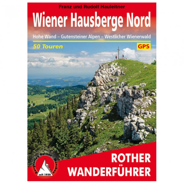 Bergverlag Rother - Wiener Hausberge Nord - Wandelgids