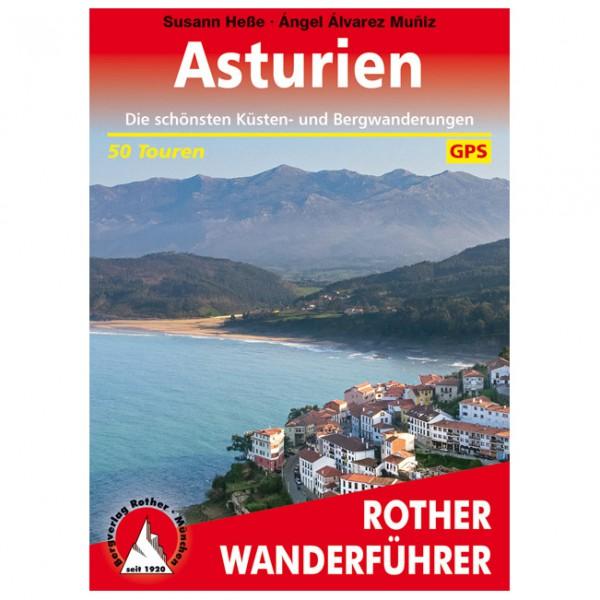 Bergverlag Rother - Asturien - Wanderführer