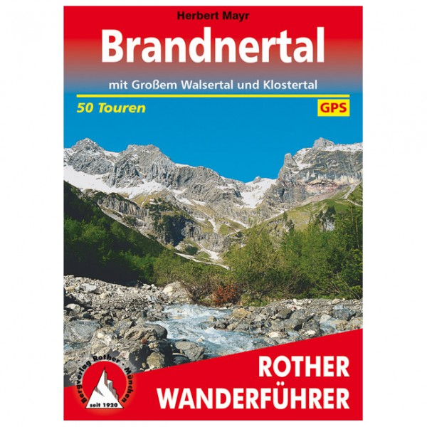 Bergverlag Rother - Brandnertal - Walking guide book