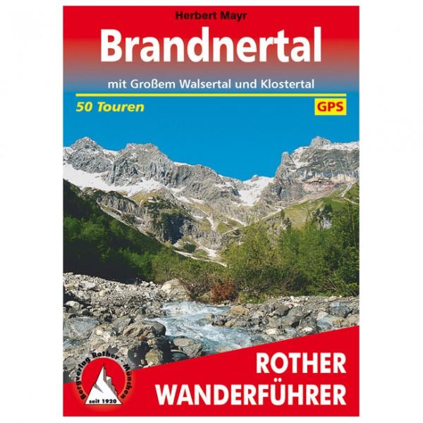 Bergverlag Rother - Brandnertal - Guide de randonnée