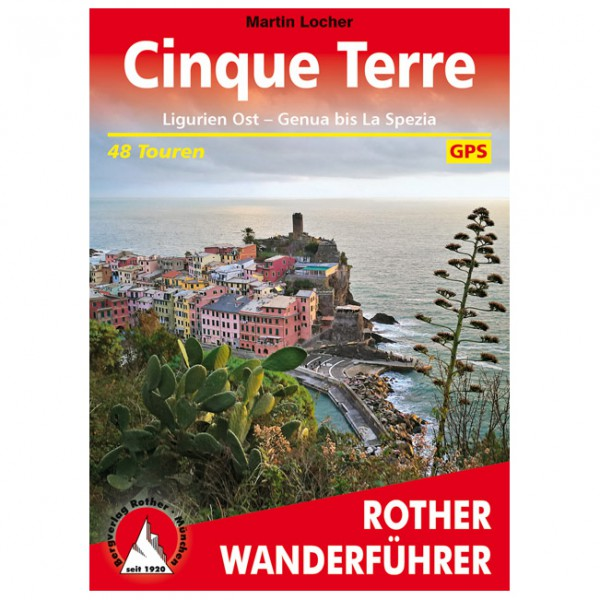 Bergverlag Rother - Cinque Terre - Walking guide book