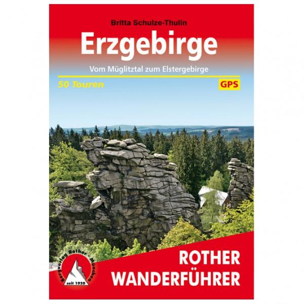 Bergverlag Rother - Erzgebirge - Walking guide book