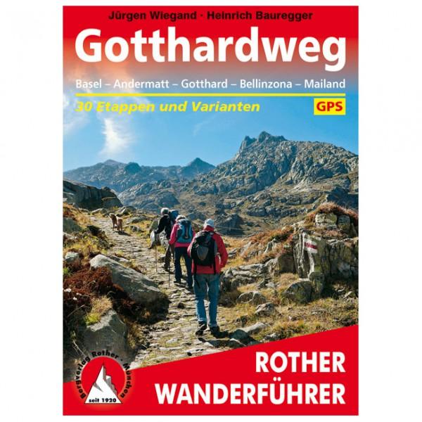 Bergverlag Rother - Gotthardweg - Vandreguides