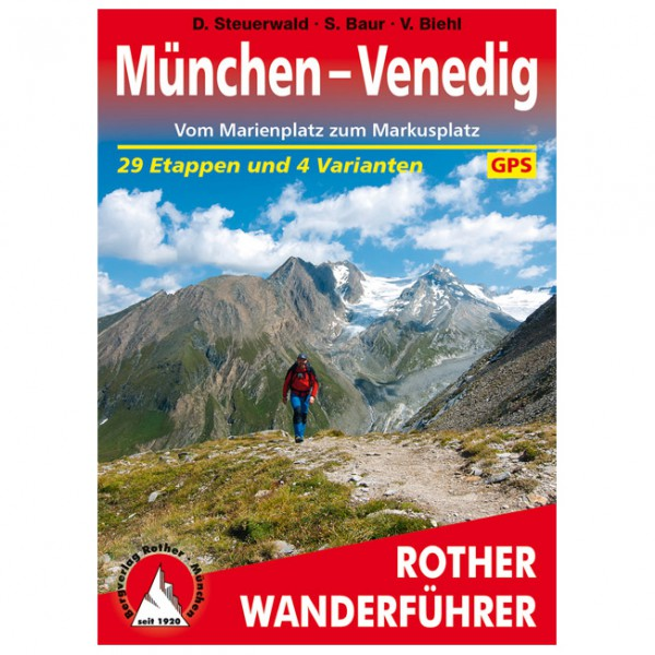 Bergverlag Rother - München – Venedig - Vandreguides