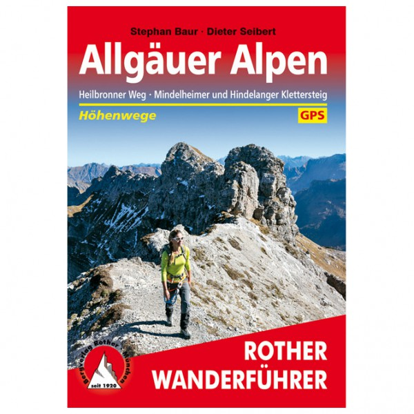 Bergverlag Rother - Allgäuer Alpen - Wandelgidsen