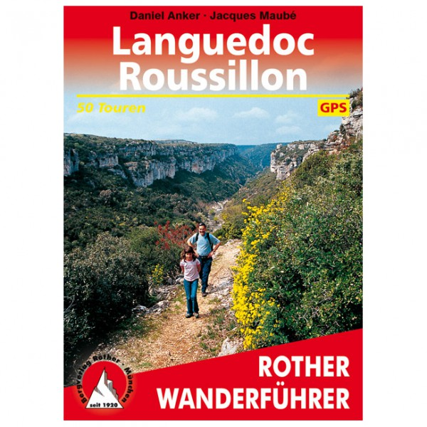 Bergverlag Rother - Languedoc-Roussillon - Walking guide book