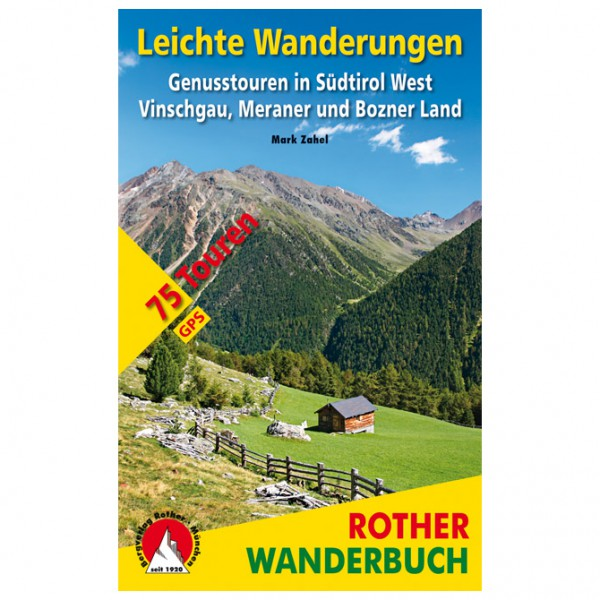 Bergverlag Rother - Leichte Wanderungen Südtirol West - Walking guide book