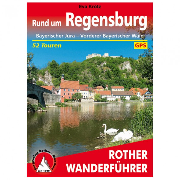 Bergverlag Rother - Rund um Regensburg - Vandreguides