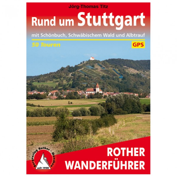 Bergverlag Rother - Rund um Stuttgart - Walking guide book