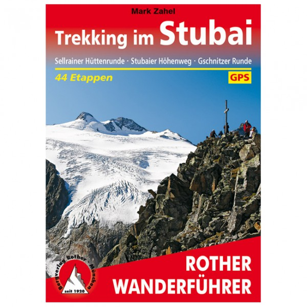 Bergverlag Rother - Trekking im Stubai - Walking guide book