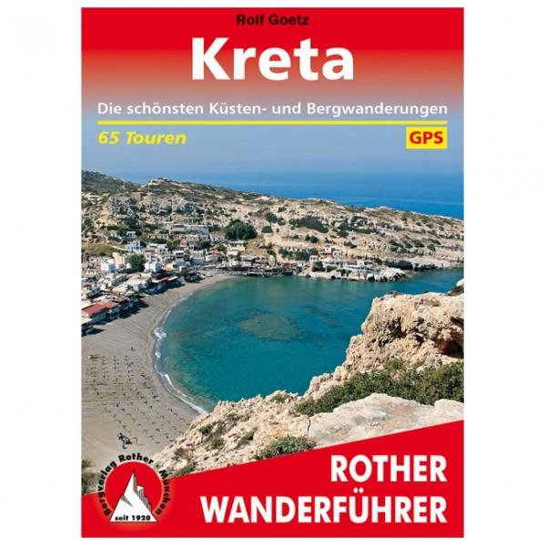 Bergverlag Rother - Kreta Küsten- und Bergwanderungen - Vaellusoppaat