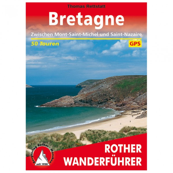 Bergverlag Rother - Bretange - Mont-Saint-Michel/Saint-Nazai - Vaellusoppaat