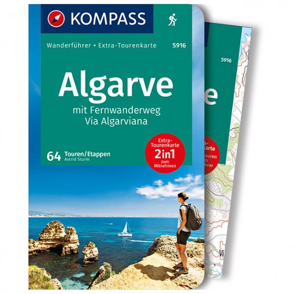 Kompass - Algarve mit FWW Via Algarviana - Walking guide book