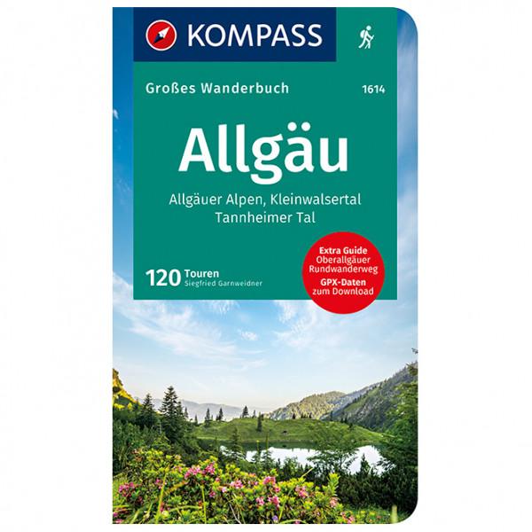 Kompass - Allgäu, Allgäuer Alpen, Kleinwalsertal - Walking guide book