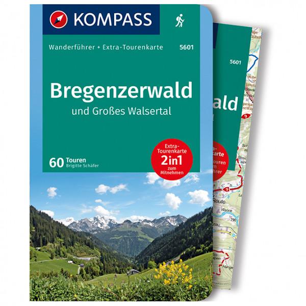 Kompass - Bregenzerwald und Großes Walsertal - Walking guide book