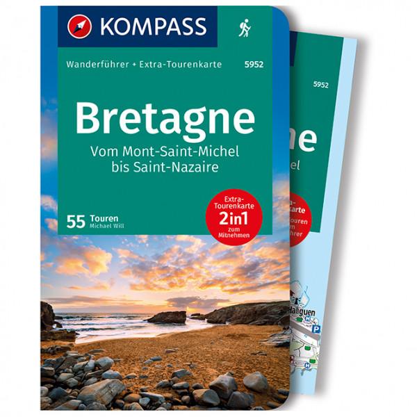 Kompass - Bretagne, vom Mont-Saint-Michel bis Saint-Nazaire - Walking guide book