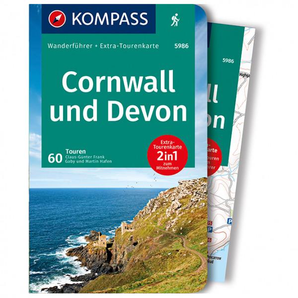 Kompass - Cornwall, Devon - Vaellusoppaat