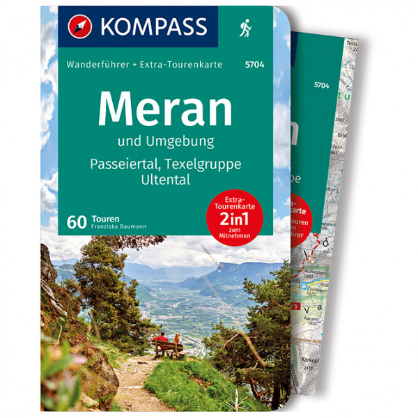 Kompass - Meran und Umgebung, Passeiertal, Texelgruppe - Vaellusoppaat