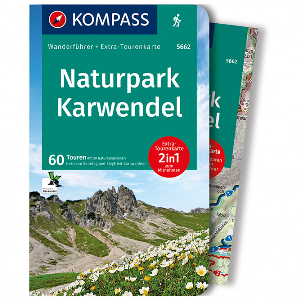 Kompass - Naturpark Karwendel - Vaellusoppaat