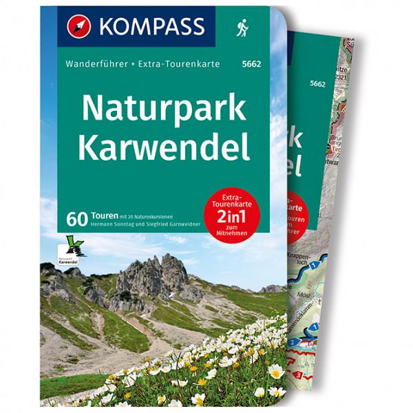 Kompass - Naturpark Karwendel - Wandelgidsen