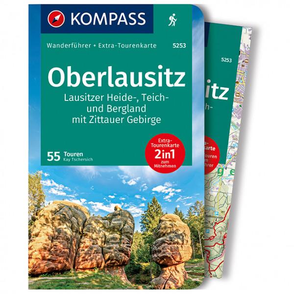 Kompass - Oberlausitz, Lausitzer Heide-, Teich- und Bergland - Walking guide book