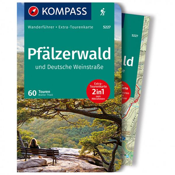 Kompass - Pfälzerwald und Deutsche Weinstraße - Vandringsguider
