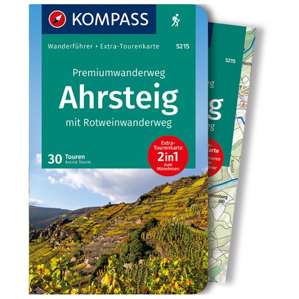 Kompass - Premiumwanderweg Ahrsteig mit Rotweinwanderweg - Walking guide book