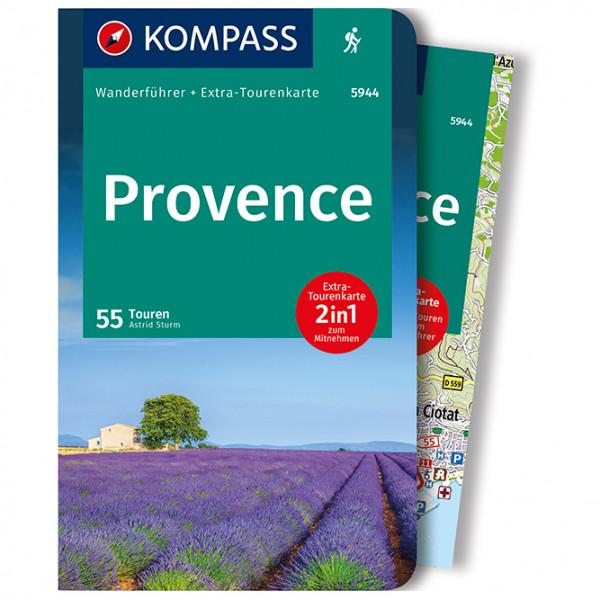 Kompass - Provence, zwischen Ardéche und Verdonschlucht - Vaellusoppaat