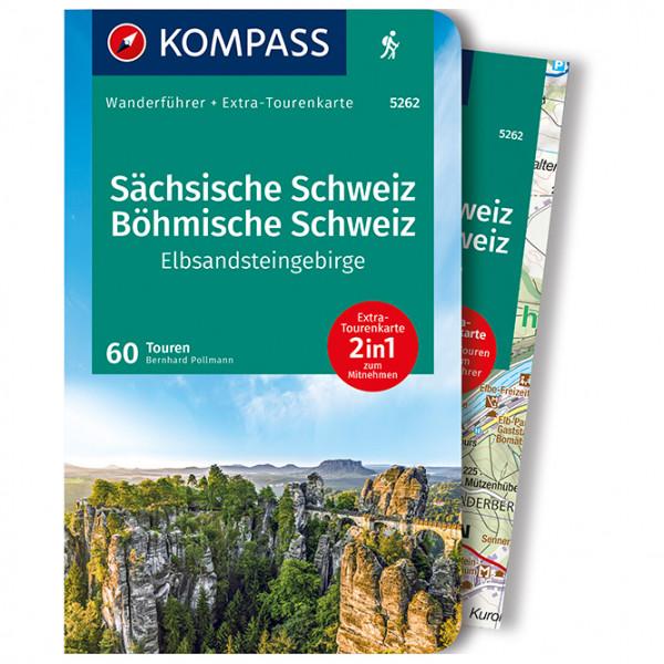 Kompass - Sächsische Schweiz, Böhmische Schweiz - Wandelgids