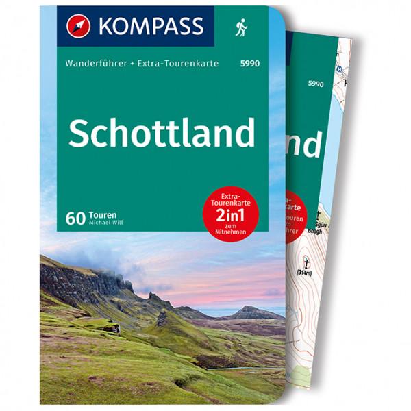 Kompass - Schottland, Wanderungen an den Küsten - Wanderführer