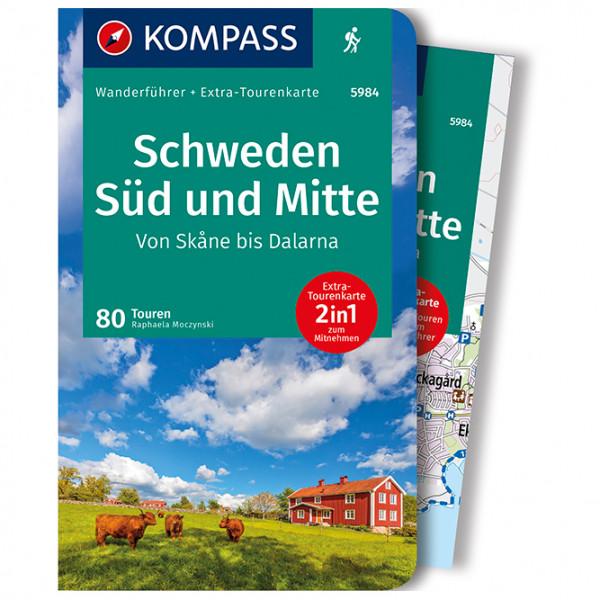 Kompass - Schweden Süd - Wanderführer