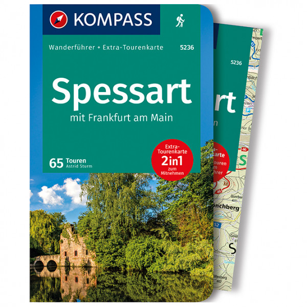Spessart mit Frankfurt am Main - Walking guide book