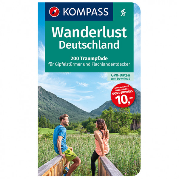 Kompass - Wanderlust Deutschland - Wanderführer