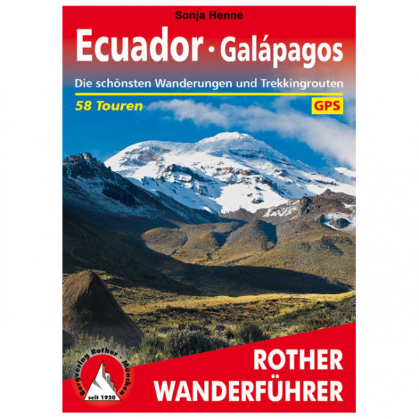 Bergverlag Rother - Ecuador Galapagos - Vaellusoppaat