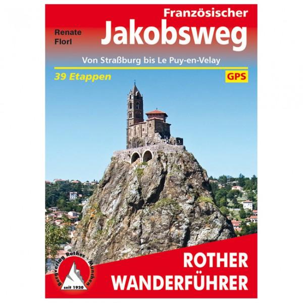 Bergverlag Rother - Französischer Jakobsweg - Walking guide book