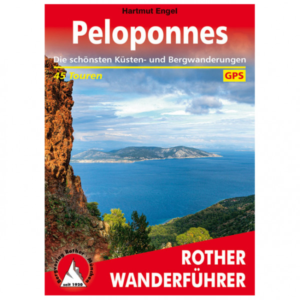 Bergverlag Rother - Peloponnes - Vandringsguider