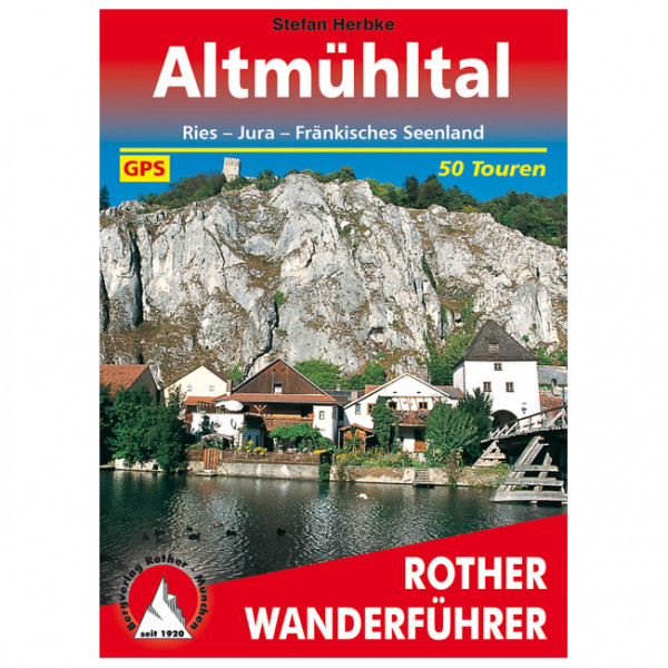 Bergverlag Rother - Altmühltal - Walking guide book