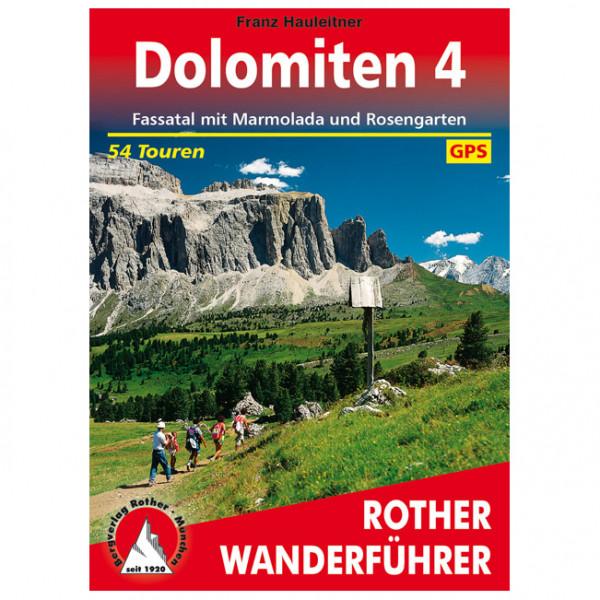 Bergverlag Rother - Dolomiten 4 - Vaellusoppaat