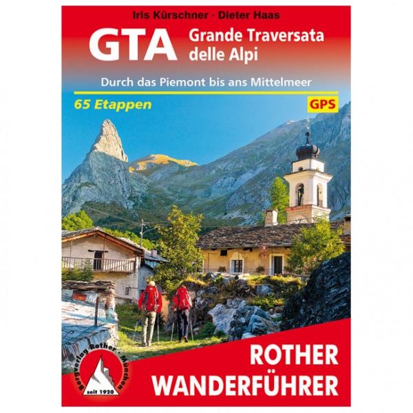 Bergverlag Rother - GTA – Grande Traversata delle Alpi - Walking guide book