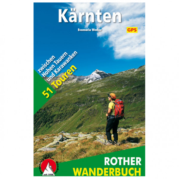 Bergverlag Rother - Kärnten - Vaellusoppaat