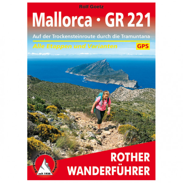 Bergverlag Rother - Mallorca – GR 221 - Walking guide book