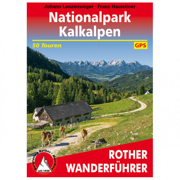 Bergverlag Rother - Nationalpark Kalkalpen - Vandringsguider