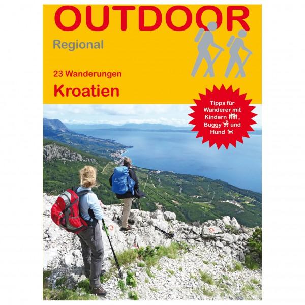 Conrad Stein Verlag - 23 Wanderungen Kroatien - Walking guide book