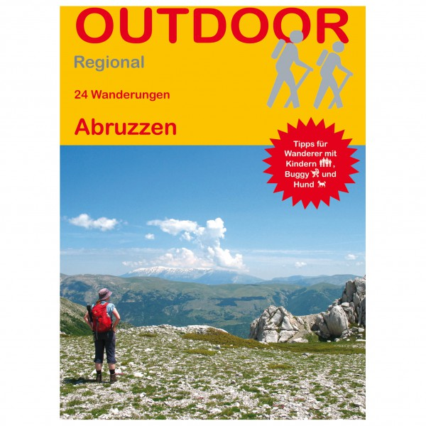 Conrad Stein Verlag - 24 Wanderungen Abruzzen - Vandreguides
