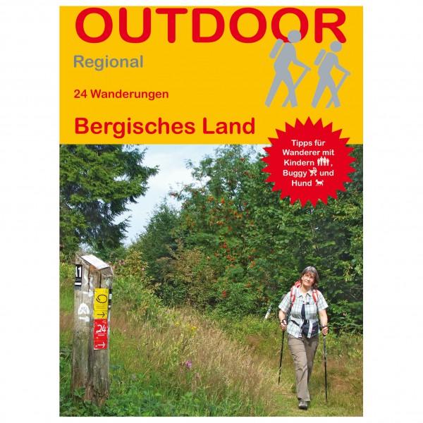 Conrad Stein Verlag - 24 Wanderungen Bergisches Land - Vandreguides