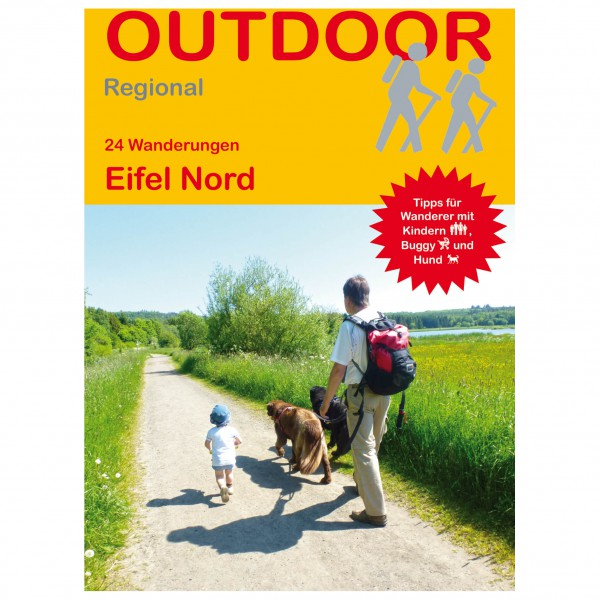 Conrad Stein Verlag - 24 Wanderungen Eifel Nord - Vaellusoppaat