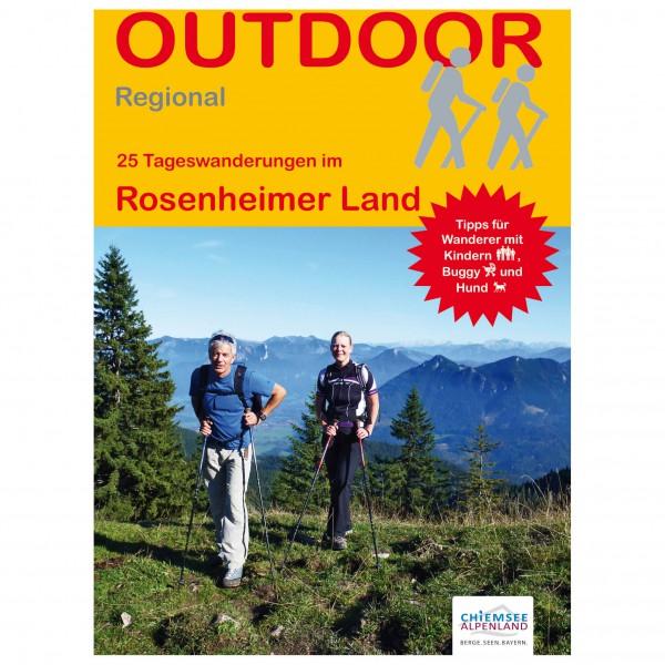 Conrad Stein Verlag - 25 Tageswanderungen Rosenheimer Land - Walking guide book