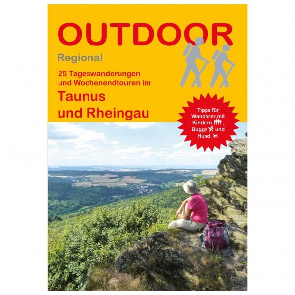Conrad Stein Verlag - 25 Tageswanderungen Taunus / Rheingau